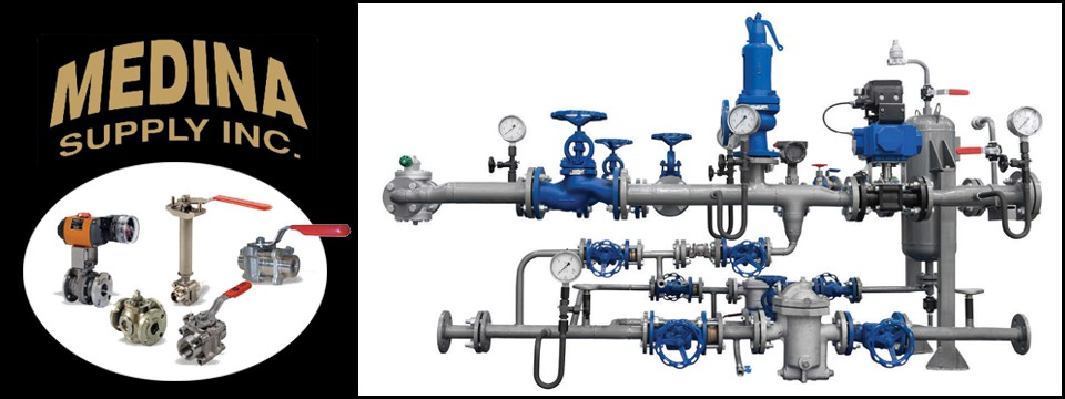 Medina supply inc pipe valves fittings gauges gaskets